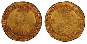 Click now to see the BUY IT NOW Price! ENGLAND ELIZABETH I  1600  ND O AV POUND  20 SHILLINGS  PCGS AU55 TOWER S 2534