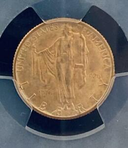 Click now to see the BUY IT NOW Price! SESQUICENTENNIAL $2.50 COIN 1926 PCGS MS 64 FAST  FROM JAPAN 9692N