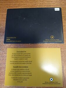 2006 CANADA PROOF SET ENVELOPE ONLY  EMPTY NO COINS  COA INCLUDED