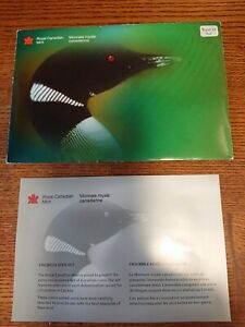 2000W CANADA PROOF SET ENVELOPE ONLY  EMPTY NO COINS  COA INCLUDED
