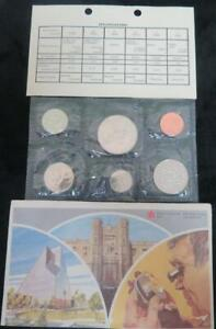 1981 CANADA UNCIRCULATED MINT SET  6 COIN SET  ROYAL CANADIAN MINT IN ENVELOPE