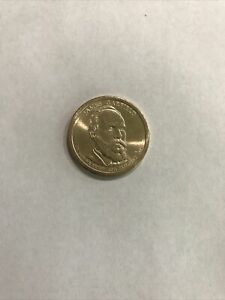 2011 P JAMES GARFIELD PRESIDENTIAL COIN