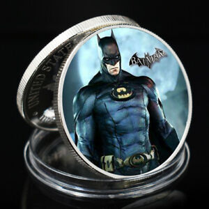 SOUVENIR COIN BATMAN CHALLENGE COIN HOLIDAY GIFTS PARTY DECORATIVE SILVER PLATED