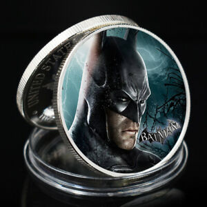 BATMAN SOUVENIR COIN HOLIDAY GIFTS DECORATION CRAFTS SILVER PLATED FOREVER COIN