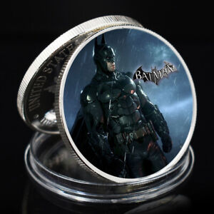 BATMAN SOUVENIR COIN SILVER PLATED COLLECTIVE COIN LUXURY GIFTS COLLECTIVE GIFTS
