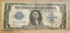Click now to see the BUY IT NOW Price! 1923 $1 SILVER CERTIFICATE SPEELMAN WHITE LARGE SIZE NOTE FR 237 N/D BLOCK NICE