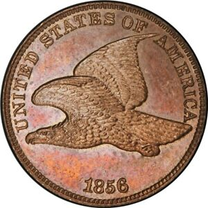 Click now to see the BUY IT NOW Price! 1856 1C FLYING EAGLE CENT PCGS PR64   EAGLE EYE PHOTO SEAL/CAC  438