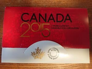 2015 CANADA PROOF SET ENVELOPE ONLY  EMPTY NO COINS  COA INCLUDED