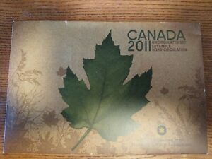 2011 CANADA PROOF SET ENVELOPE ONLY  EMPTY NO COINS  COA INCLUDED