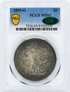 Click now to see the BUY IT NOW Price! 1895 O MORGAN S$1 PCGS MS 65