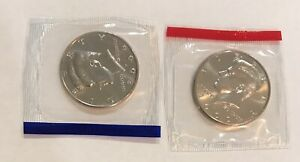 2000 P & D KENNEDY HALF UNCIRCULATED IN MINT CELLO 2 COIN LOT