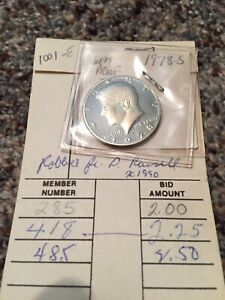 1978 S KENNEDY HALF DOLLAR GEM PROOF US COIN US PROOF MINT