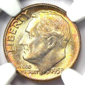 Click now to see the BUY IT NOW Price! 1958 ROOSEVELT DIME 10C COIN  1958 P    NGC MS67  FT   PLUS GRADE COIN
