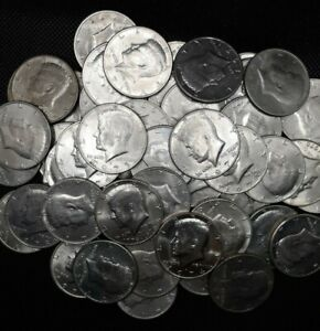 LOT OF 20   1971  1978 P&D KENNEDY HALF DOLLARS  LOT ALL 70'S