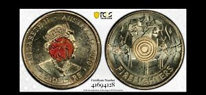 Click now to see the BUY IT NOW Price! 2020 $2 FIREFIGHTERS BULLSEYE COIN PCGS MS65