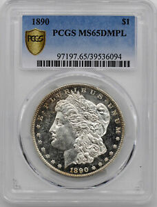 Click now to see the BUY IT NOW Price! 1890 MORGAN S$1 PCGS MS 65 DMPL