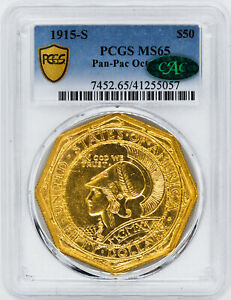 Click now to see the BUY IT NOW Price! 1915 S GOLD $50 PCGS MS 65