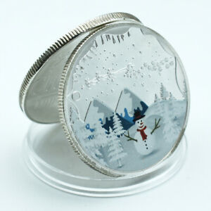WORLD COMMEMORATIVE SILVER COIN COLLECTIBLE SILVER PLATED METAL COIN ART CRAFTS