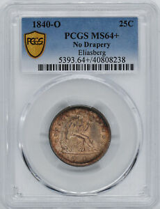 Click now to see the BUY IT NOW Price! 1840 O LIBERTY SEATED 25C PCGS MS 64