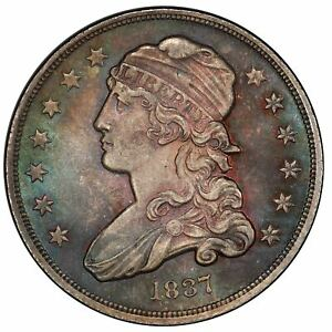Click now to see the BUY IT NOW Price! 1837 25C CAPPED BUST QUARTER PCGS MS66  CAC