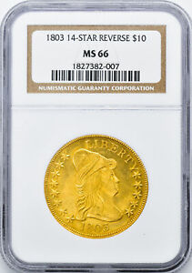 Click now to see the BUY IT NOW Price! 1803 DRAPED BUST $10 NGC MS 66