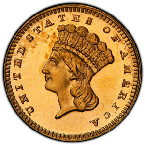 Click now to see the BUY IT NOW Price! 1886 $1 INDIAN GOLD DOLLAR PCGS PR66CAM