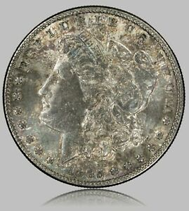 Click now to see the BUY IT NOW Price! 1885 P MORGAN SILVER DOLLAR NICE ORIGINAL UNCIRCULATED COIN DARK TONED OBVERSE