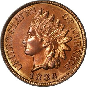Click now to see the BUY IT NOW Price! 1886 1C VARIETY 2 INDIAN HEAD CENT PCGS MS65RD  EEPS  264