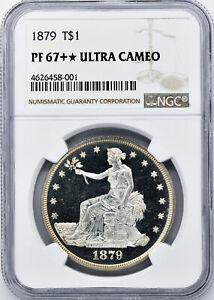 Click now to see the BUY IT NOW Price! 1879 TRADE T$1 NGC PR 67  DCAM