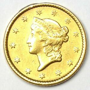 1851 LIBERTY GOLD DOLLAR G$1   AU DETAILS    EARLY GOLD COIN