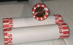 1 ROLL   2021 D LINCOLN PENNY BANK ROLL