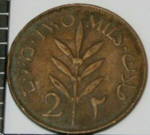 PALESTINE 1927 TWO MILS BRONZE COIN HISTORY