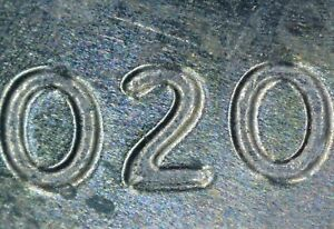 2020 D LINCOLN SHIELD CENT PENNY DDO DDR DOUBLING ERROR  0390