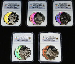 Click now to see the BUY IT NOW Price! 2007 CANADA HOLOGRAM COINS 5 SILVER $25 NGC PR 69 SET OLYMPIC ROYAL MINT