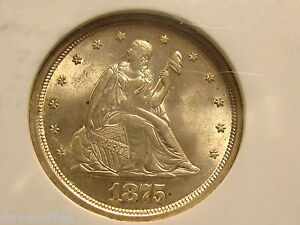 Click now to see the BUY IT NOW Price! 1875 S TWENTY CENT PIECE NGC MS65 A HIGH GRADE JEWEL AND FREE SHIP