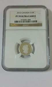 Click now to see the BUY IT NOW Price! 2013 CANADA 10 CENT SILVER COIN NGC  PF70 ULTRA CAMEO