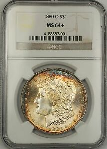 Click now to see the BUY IT NOW Price! 1880 O MORGAN SILVER DOLLAR $1 COIN NGC MS 64  GORGEOUS GEM