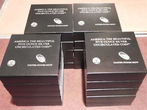 Click now to see the BUY IT NOW Price! 2010 11 12 & 13 P AMERICA THE BEAUTIFUL 5OZ SILVER US MINT COIN SETS  20 COINS