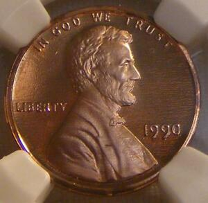 Click now to see the BUY IT NOW Price! RED CAMEO PROOF 1990 NO