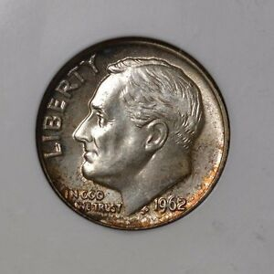 Click now to see the BUY IT NOW Price! 1962 D ROOSEVELT DIME  / MS 67 FT / SILVER / NGC 503880 017 / STRONG STRIKE