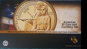 2014 COIN AND CURRENCY SET 2014 D ENHANCED UNCIRCULATED  SACAGAWEA TA9 COA