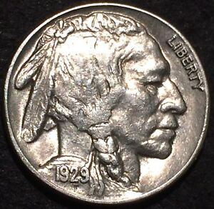 1929 S BUFFALO NICKEL U.S. MINT SAN FRANCISCO 162