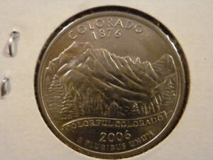 2006 D  UNCIRCULATED AU  COLORADO STATE QUARTER US QUARTER DOLLARS