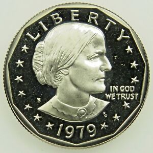 1979 S  SUSAN B ANTHONY DOLLAR  PROOF TYPE 1   UNCIRCULATED