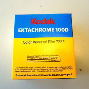 new sealed kodak 7285 ektachrome 100d
