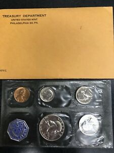 Click now to see the BUY IT NOW Price! 1957 UNITED STATES PROOF MINT SET  C 634