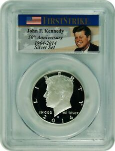 Click now to see the BUY IT NOW Price! 2014 S PCGS MS70DMPL ENHANCED KENNEDY SILVER HALF DOLLAR COMMEM FIRST STRIKE