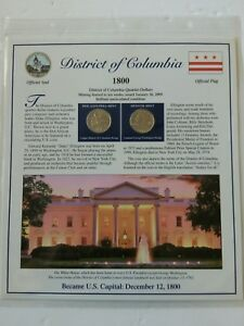 2009 P&D QUATERS AND STAMPS COMMEMORATIVE SET DISTRICT OF COLUMBIA