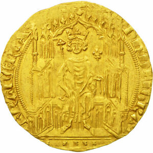 Click now to see the BUY IT NOW Price! [473584] COIN FRANCE PHILIPPE VI DOUBLE ROYAL D'OR PCGS MS62 GOLD GRADED