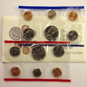1992 US MINT UNCIRCULATED 10 COIN MINT SET